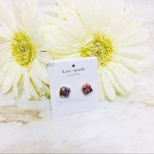 KATE SPADE NEW YORK | Multi Glitter Stud Earrings